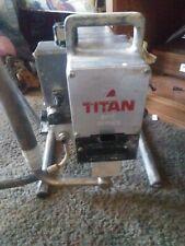 Titan 440e airless paint sprayer