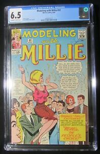 Modeling With Millie #32 CGC 6.5...Paper dolls/pin-ups...by Stan G. & Stan Lee