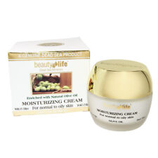 Moisturizing Cream w/ Olive Oil Beauty Life Dead Sea Minerals 1.75fl.oz/50ml
