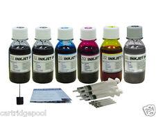 Canon Refill Ink PGI-225 CLI-226  IP4820 MG5220 MG8220 6x4oz Gray +Pigment Black