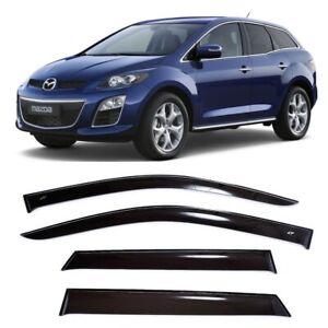 For Mazda CX-7 2006-2012 Window Side Visors Sun Rain Guard Vent Deflectors