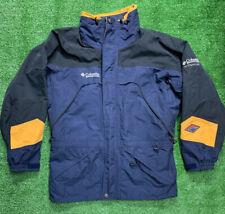 Columbia Titanium Omnitech Men's Waterproof Jacket Men's Medium Colorblock Rare