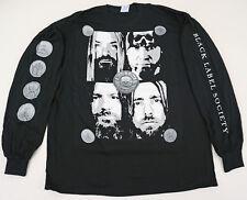 BLACK LABEL SOCIETY Long Sleeve T-shirt FACES Tee Adult XL Black New