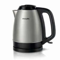 Philips-HD9305 Electric Metal Cordless Kettle Boiling Pot 1.5 Liter 220V_NV