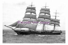 rs0093 - UK Sailing Ship - Aristides - photograph 6x4
