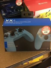 Gioteck VX4 Ergonomic Sony PlayStation PS4 Controller-Blue NEW.