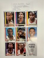 MILK MUSTACHE Topps 1998 Limited Edition Collector's Basketball Cards UNCUT!!