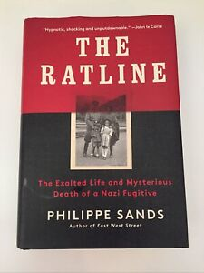 The Ratline By Philippe Sands. Hardcover, 2021. 1st American Ed. Like New.