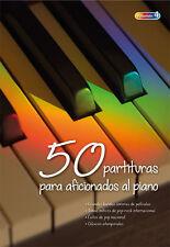 """VOLUMEN 4 - """"50 PARTITURAS PARA AFICIONADOS AL PIANO"""""""