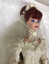Romantico Rose porcellana sposa Barbie 1995 MATTEL