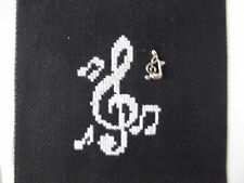 Broderie Note de musique
