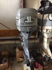 "1999 Johnson 90 hp Outboard Boat Motor Engine Evinrude 20"" Prop 75 115 Nice"