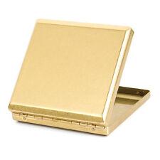 Pure Copper Metal Cigarette Case Holder for 20 Regular Cigarettes KC9-01