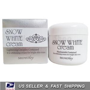 [ Secret key ] Snow White Cream 50g ++NEW Fresh++
