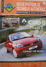 Revue technique automobile RTA Renault Clio Après 1998