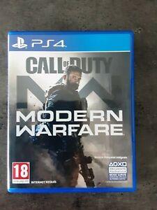 Call of Duty: Modern Warfare (Sony PlayStation 4, 2019) comme neuf