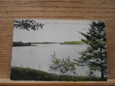 Spring Lake Mi Mich Michigan, View from Lorimer , early postcard  1907