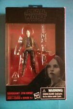"Star Wars The Black Series SERGEANT JYN ERSO 3.75"" Action Figure"