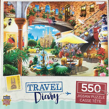 Master Pieces 550 Piece Jigsaw Puzzle Travel Diary - Barcelona
