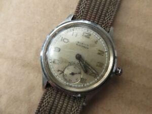 Vintage 1943 BIRKS Military Style Swiss Manual Watch.  WWII era