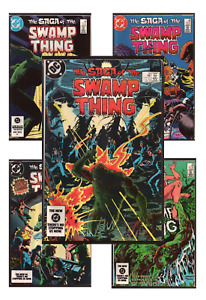 Saga of the Swamp Thing #20-78 VF/NM 9.0+ 1984-1988 DC Comics Back Issues