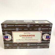 nag champa Cinnamon incense 12 X 15gm Bulk pack 2018 fresh stock