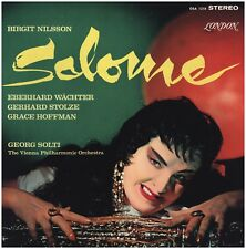 STRAUSS Salome GEORGE SOLTI BIRGIT NILSSON LONDON STEREO 2 LP BOX VINYL RECORD
