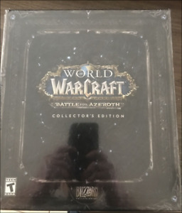World of Warcraft Battle for Azeroth Collector's Edition NEW Sealed