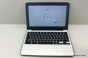 """WORKING AS-IS"" ASUS Chromebook C202SA-RB02-CB 11.6"" Laptop"