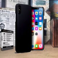 Apple iPhone Xs Impact Displacement  Composite Hardened Bumper Black Case