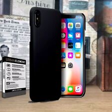 iPhone 10 Durable Light Weight Cover Hardened Bumper Precision  Matte Black Case