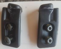 MAZDA MX5 MK1 MK2 MK2.5 FRONT ROOF LATCH / BRACKETS - PAIR WITH ATTACHMENT BOLTS