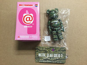 "Medicom Bearbrick Series 9 S9 SF ""Metal Gear Solid 3"" Be@rbrick"