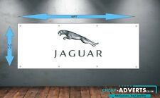 CAR LOGOS JAGUAR - Workshop, Garage, Office or Showroom PVC BANNER - Any size