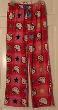 Hello Kitty Junior Girls Sleep Pants Pajama Bottoms M