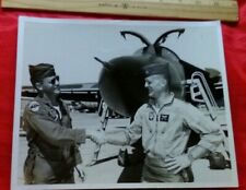Vintage USAF Military Photograph F-111 Initial Flight 1/69 Bob Oberg