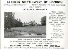1937 Georgian Residence 25 Miles North-west Of London 18 Acres Lease For Disposa