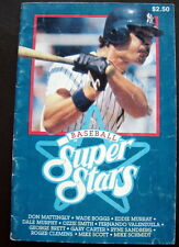 1987 Baseball Super Stars Booklet. Don Mattingly Yankees Cover