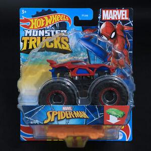 Hot Wheels - Monster Trucks - Marvel - Spider-Man - Brand New