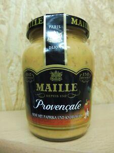 Maille Senf Provencale mit Paprika und Knoblauch Glas  200 ml