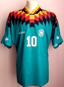 Germany 1994 - 1996 Away football Adidas shirt #10 Matthäus