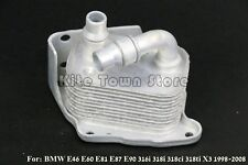 New Engine Oil Cooler For BMW E46 E60 E81 E87 E90 316i 318i 318ci 318ti X3
