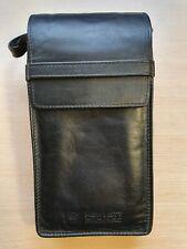 Original Leder Tasche für Hewlett Packard HP 82240A / 82240B Thermodrucker #678