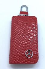 Key Chain Case Red For Mercedes Benz