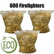 More details for natural firelighters - 600 wood eco natural fire lighters