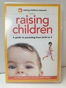 Raising Children - A Guide To Parenting From Birth To 5 DVD As New