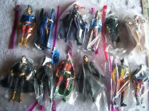 Lot of 12 DC Action Figures