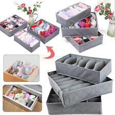 New 3pc Underwear Bra Sleepwear Sock Storage Case Bag Organizer Holder Box Set