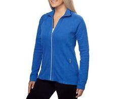 NEW Kirkland Signature Ladies' Brushed Stretch Full Zip Jacket Blue M