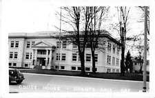 Grants Pass Oregon birds eye view Josephine Co Court House real photo pc Z22572